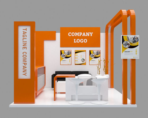 Design Booth and Product Window/Display